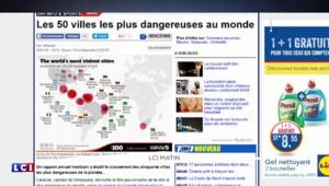 Et la ville la plus dangereuse au monde est...