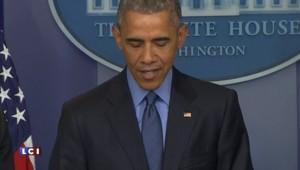 """Fusillade de Charleston : ému, Obama dit avoir """"tenu le même discours trop de fois"""""""