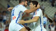 OM-Nice (4-0), le 29 août 2014.