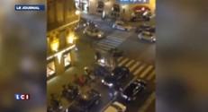 Braquage chez Cartier : la fuite filmée d'un immeuble en face