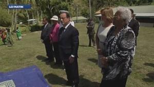 François Hollande en Nouvelle Calédonie