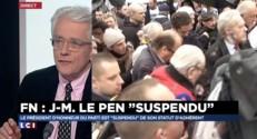 """Jean-Marie Le Pen suspendu : """"La décision va dans le sens d'une exclusion à terme"""""""