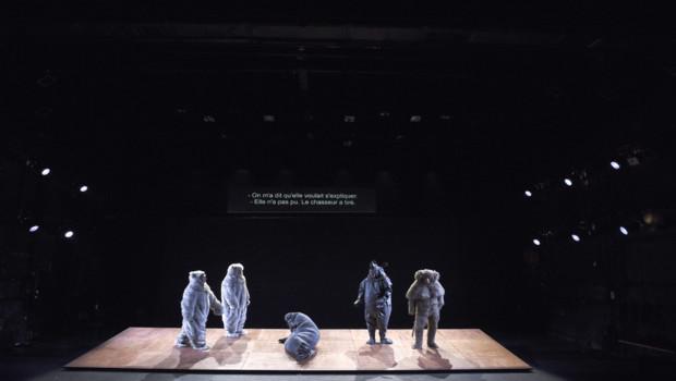 La pièce TIGERN, le 12 juillet 2016 au festival d'Avignon.