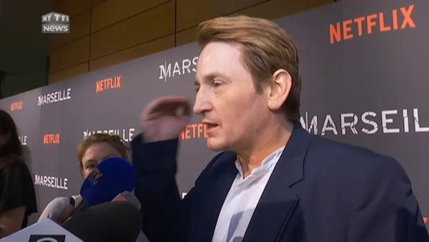 """Le tournage de """"Marseille"""" a-t-il donné envie à Magimel de faire de la politique ?"""