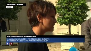"Najat Vallaud-Belkacem : ""Cette rentrée scolaire se passe bien"""