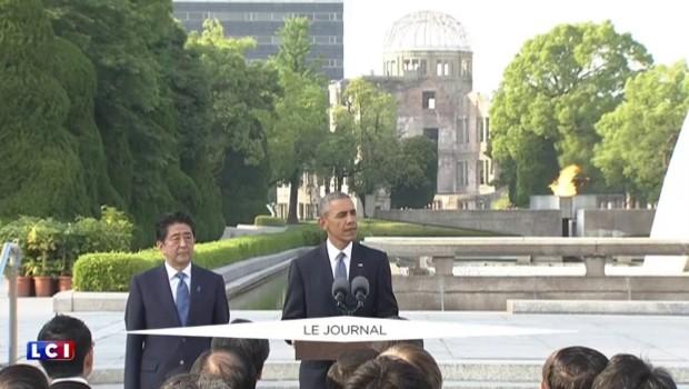 """Obama : """"Il y a 71 ans, la mort est tombée du ciel"""""""