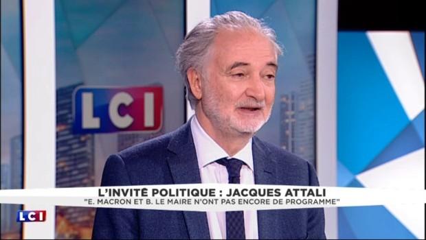"""Présidentielle 2017 : """"Le prochain président sera un inconnu"""" selon Jacques Attali"""