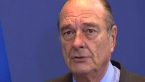 TF1-LCI : Jacques Chirac, à Bruxelles, le 8 mars 2007