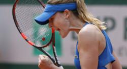 Alizé Cornet lors du tournoi de Roland-Garros, le 25 mai 2015.