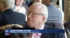 """Jean-Marie Le Pen : """"J'ai honte que la présidente du FN porte mon nom"""""""