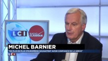 """Juppé sur la Grèce : """"Au fond de lui-même, il souhaite l'unité de la zone euro"""" dit Barnier"""