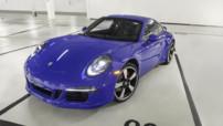 La Porsche 911 GTS Club Coupe, édition spéciale pour les 60 ans du Porsche Club of America, célèbre groupe de passionnés de la marque allemande.