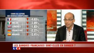 Lundi noir pour les Bourses : les banques françaises en danger ?