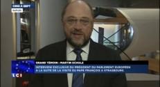 """Motion contre Juncker : """"Elle ne trouvera pas de majorité"""", selon le président du Parlement européen"""