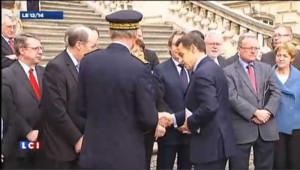 Aubry accueille Sarkozy à Lille : les images