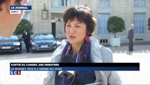 "Bertinotti : ""un budget efficace et utile"""