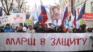 Début mars, plusieurs milliers de personnes avaient défilé à Moscou pour appeler les autorités à interdire toute adoption d'enfants russes par des étrangers
