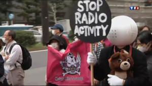 """Le 13 heures du 10 mars 2013 : Japon : 2 ans apr�Fukushima, ils disent """"non"""" au nucl�re - 293.367"""
