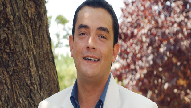 Le comédien Stéphane Slima