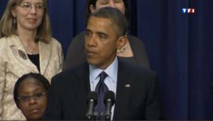 Le président Barack Obama lors des négociations budgétaires en décembre 2012.