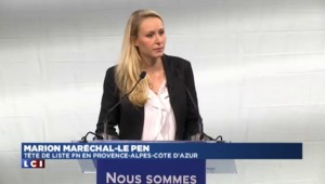"""PACA : Maréchal-Le Pen ne dirigera pas la région """"assise dans un bureau"""""""