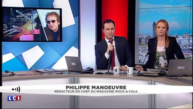 """Philippe Manœuvre sur David Bowie : """"Il a inventé des mouvements à lui tout seul"""""""