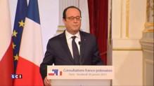 """Situation en Ukraine : pour Hollande, """"il y a urgence"""""""