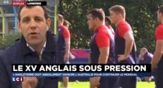 Coupe du monde de rugby : l'Angleterre tremble face à l'Australie