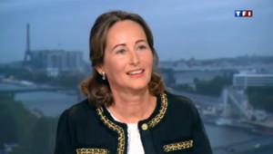 Invitée de Claire Chazal sur TF1, Ségolène Royal revient sur le début de mandat de François Hollande.