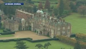 La propriété royale de Sandringham (est de l'Angleterre).