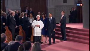 Le 20 heures du 18 avril 2013 : Boston : Obama rend hommage aux victimes �oston - 389.012