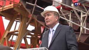 Le 20 heures du 9 mai 2014 : Les chantiers navals de Saint-Nazaire d�ochent un nouveau contrat - 1014.5021148681641