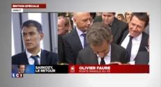 """Olivier Faure : le retour de Sarkozy permettra """"une droite qui aura enfin un porte-parole"""""""