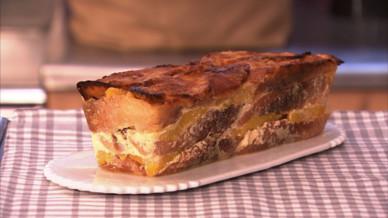 G teau au pain perdu l 39 orange et la cannelle petits plats en equilibre mytf1 - Toutes les recettes de petit plat en equilibre ...