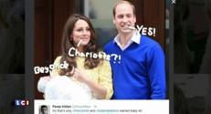 Royal baby : le choix du prénom largement commenté sur les réseaux sociaux