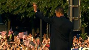 Barack Obama à Berlin.