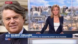 """Gilbert Collard : """"Marion Maréchal-Le Pen sait que la patronne du FN, c'est Marine"""""""