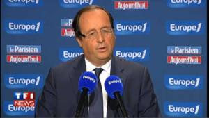 François Hollande critique face aux propos de Martine Aubry
