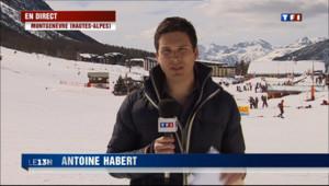 Le 13 heures du 10 mars 2013 : Avalanches : risques maximum - 494.826