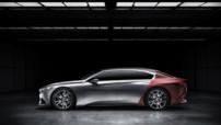 Peugeot Exalt, concept-car de berline basse présenté au Salon de Pékin le 20 avril 2014