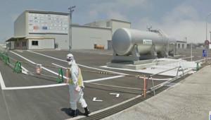 Fukushima sur Google Street View