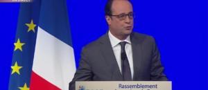 """Hollande au Congrès : """"Paris, ville martyre, mais ville lumière"""""""