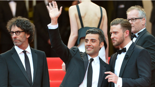 Justin Timberlake et Oscar Isaac  Cannes le 19 mai 2013