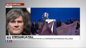 "Le Foll : ""Sarkozy n'a pas dit grand-chose"""
