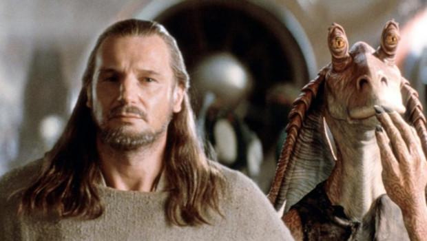 Liam Neeson dans Star Wars