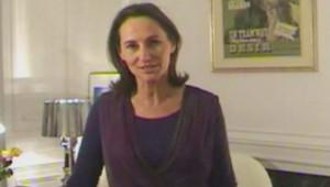 Ségolène Royal dans une vidéo où elle s'adresse aux militants (26 novembre 2008)