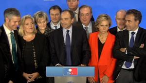Laurent Wauquiez, Michele Tabarot, Nadine Morano, Valérie Pécresse, Luc Chatel... les ennemis d'hier réunis sur une scène et dans une nouvelle organisation mardi 15 janvier.