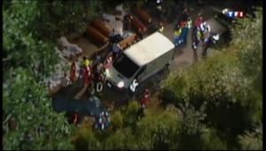 Le 13 heures du 29 juillet 2013 : Accident spectaculaire d'un autocar en Italie: au moins 39 morts - 366.484