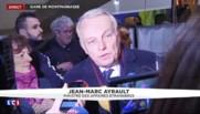 Les premiers mots d'Ayrault après son retour au gouvernement