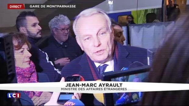 Les premiers mots d'Ayrault depuis son retour au gouvernement
